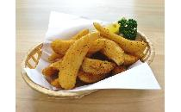 ウェッジカットポテト(ガーリック味) 1kg