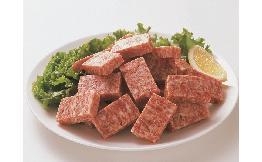 ドミノステーキ(牛脂注入成形肉) 1kg