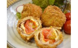 【ケース】トマト豚バラチーズ揚げ 50g×15個