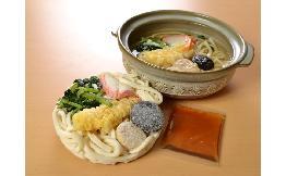 具付麺 えび天鍋焼うどんセット 1食