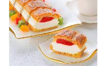 フリーカットケーキ シュークリーム(いちご) 1本