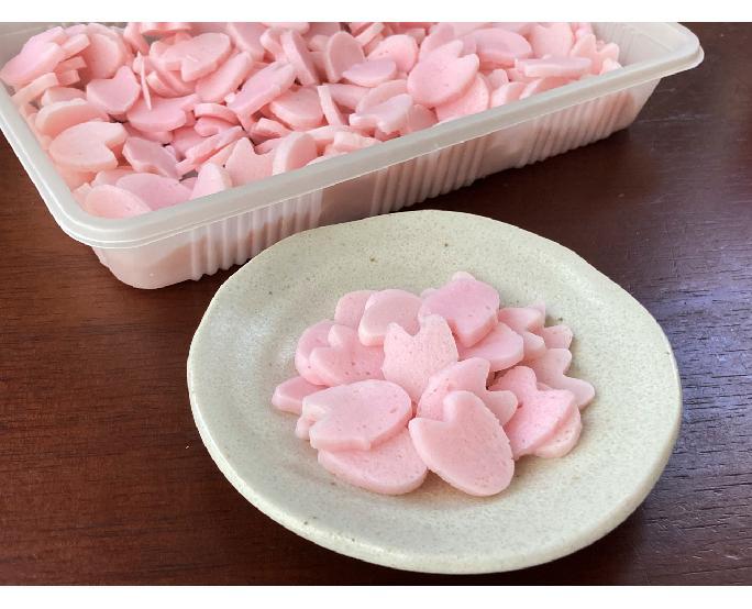 桜の花びらスライス蒲鉾 300g