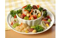 ブロッコリーと豆の10品目サラダ 1kg