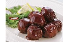 ジャンボ肉だんご(黒酢たれ) 900g
