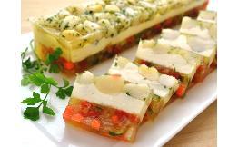 貝柱と彩り野菜のテリーヌ 1本