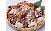 【BOX】渡り蟹の切り身1kg