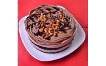 小さなホールケーキ(ドゥーブルショコラ) 1個