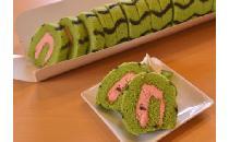 ロールケーキ(カット) スイカ 1本