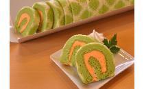 ロールケーキ(カット)富良野産メロン 1本(20カット)