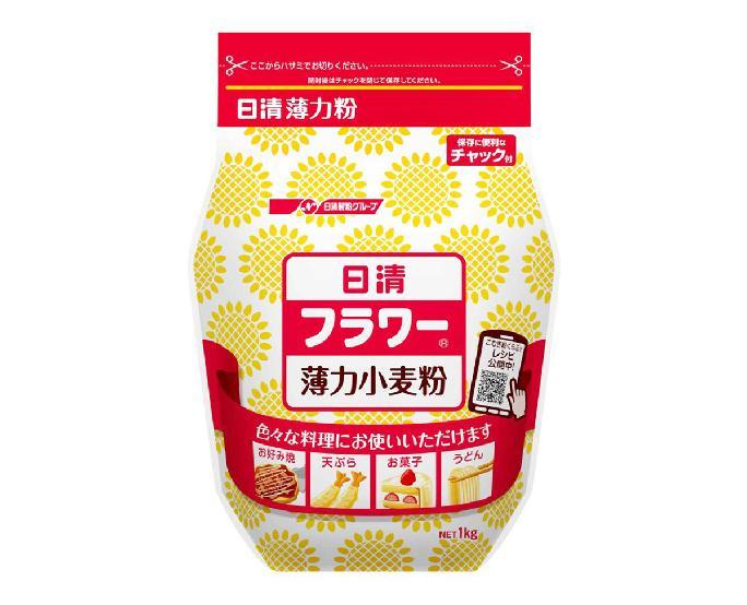 日清_小麦粉フラワー(薄力粉)1kg