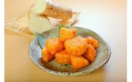 【国産】長芋の唐揚げ(ガーリック風味) 500g