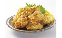 【鹿児島県産】若鶏むね肉の唐揚げ(塩にんにく味) 1kg