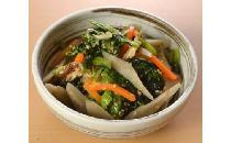 小松菜と根菜のごま生姜和え 800g