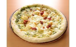 5種のチーズピッツァ(バジルソース)24cm 1枚