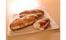 バゲットサンド(ハム&チーズ) 5本