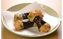 いか海苔巻き(枝豆) 500g