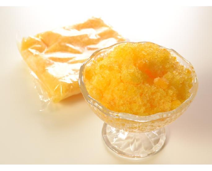 雪氷(マンゴー果肉入り) 15袋