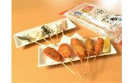 串揚げ名人 海鮮串揚げセット(5種×2本) 1セット