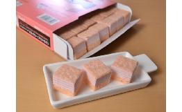 ミニカットケーキ ミルクレープ(いちご) 1台