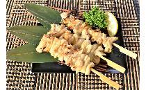 炭火焼 鶏素焼皮串 40本
