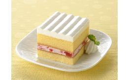 スクエアポーションケーキ(いちご) 10個