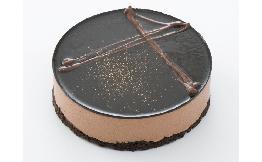 小さなホールケーキ(ベルギーチョコムース)1個