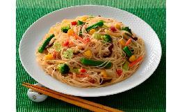 8種野菜の塩ビーフン(黒胡椒味) 2食