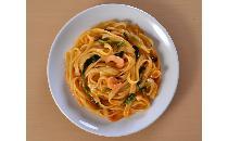 生パスタ・濃厚海老トマトクリーム〈MA・MA〉 1食