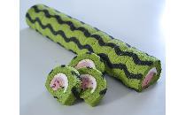 ロールケーキ(カット)鳥取県産スイカ 1本
