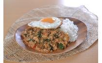 ガパオ(鶏肉の辛口バジル炒め) 10食