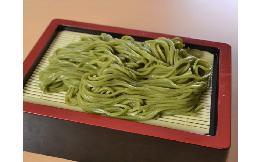 茶そば(八女抹茶使用)〈武蔵野〉 5玉