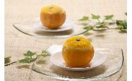 皮付・柚子シャーベット 1個