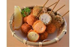 海鮮団子串(たこ・えび・いか) 10本