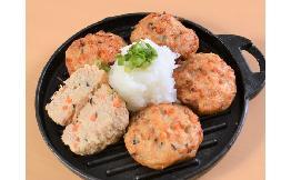 丸型豆腐ハンバーグ(焼済) 25個