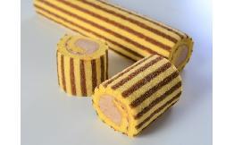 フリーカットロールケーキ(チョコバナナ) 1本