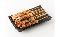 【中国産】グルグル鶏皮巻き串 20本