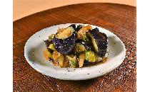 揚げ茄子とブロッコリーの柚子醤油和え 800g