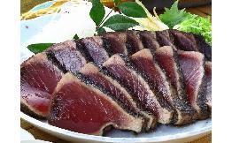 一本釣り 藁焼かつおたたき〈明神水産〉 3kg