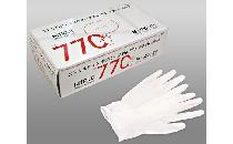 ニトリル手袋(粉付き・白・Mサイズ) 100枚