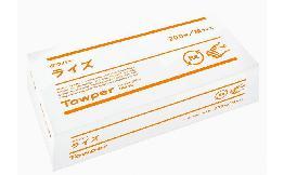 再生紙ペーパータオル(タウパーライズM) 200枚
