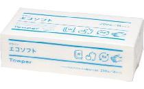 タウパーエコソフト 200組(再生紙ペーパータオル)