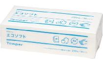 再生紙ペーパータオル(タウパーエコソフト)(200組) 400枚