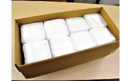 [おしぼり] 整列おしぼり レーヨン平型(ケース) 2000本