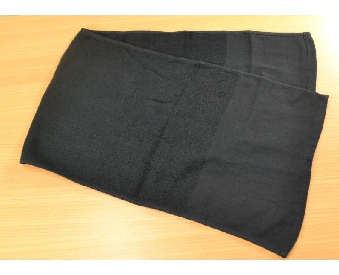 ロングタオル(黒) 6枚